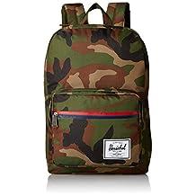 Herschel Supply Co. Pop Quiz Backpack, Woodland Camo/Zip, One Size