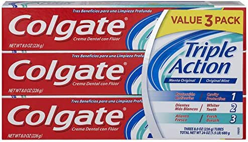 Toothpaste: Colgate Triple Action
