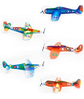 Amazon com: Foam Airplane Gliders (4 dz) by Fun Express: Toys & Games