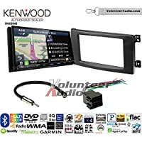 Volunteer Audio Kenwood Excelon DNX994S Double Din Radio Install Kit with GPS Navigation Apple CarPlay Android Auto Fits 2008-2010 Smart Fortwo