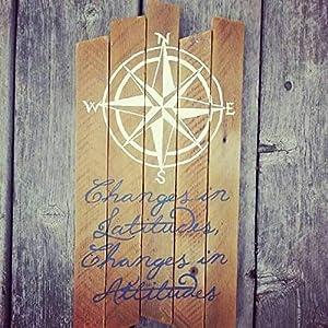 51f2eIC3qVL._SS300_ Nautical Wooden Signs & Nautical Wood Wall Decor
