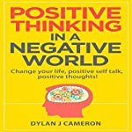 Positive Thinking in a Negative World: Change Your Life, Positive Self Talk, Positive Thoughts | Dylan J Cameron