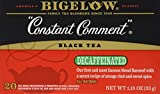 Bigelow Tea Constant Comment Decaf 20 Bags (Pack of 3)