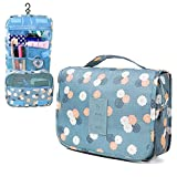 XUZOU Portable Travel Makeup Bag Makeup Case Cosmetic Makeup Bag