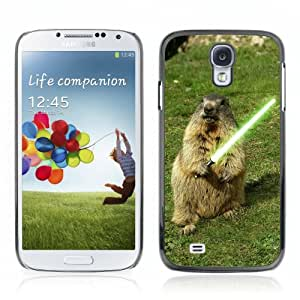 YOYOSHOP [Cute Groundhog with Lightsaber] Samsung Galaxy S4 Case