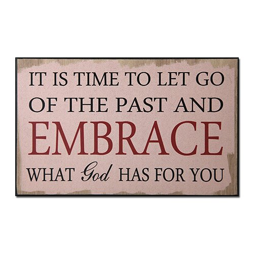 African American Expressions - Let Go of The Past Wall Plaque (10