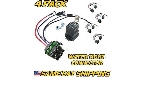john deere 160 wiring harness amazon com hd switch  4 pk  john deere starter relay kit  john deere starter relay kit