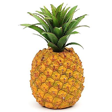Artificial Pineapple Decorative Plastic Fruit By Shelf Edge