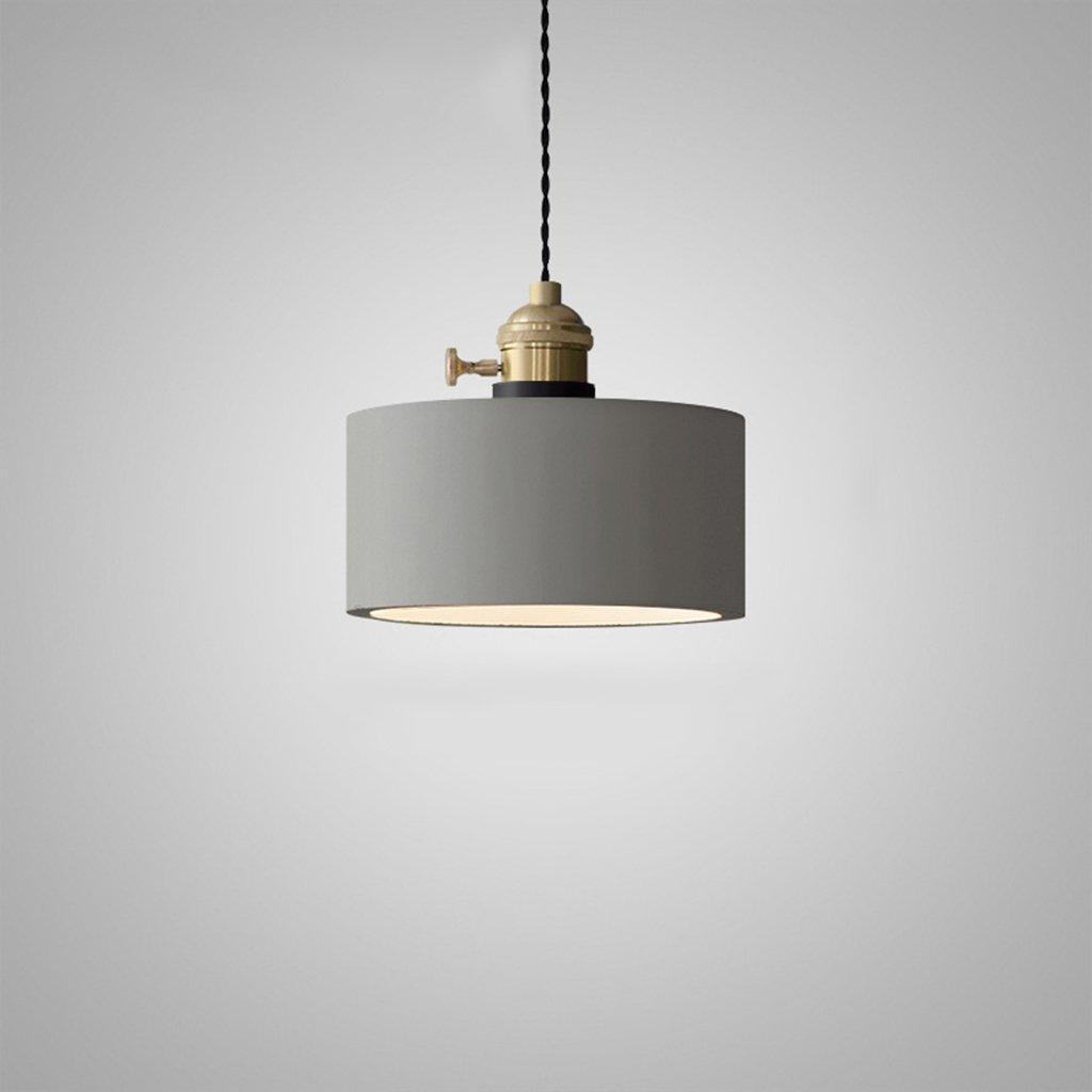 Araña Creativa iluminación Lámpara de Viento Industrial Retro Personalidad Creativa Araña Lámpara de Cemento Restaurante Dormitorio Galería de Estudio Lámpara Luces Interiores (Tamaño : D) 0c26d2