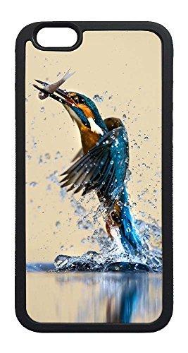 iPhone 6 Plus Case, iPhone 6 Plus Cases Soft Rubber Black Case Water Bird Case For iPhone 6 Plus, iPhone 6 Plus TPU Case