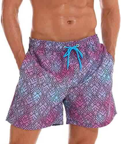 Ivyi Man Swimsuits Board Shorts Plus Size XXXL Beach Wear Briefs Swimwear Quick Dry Surf Shorts Es3R