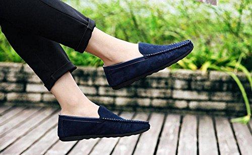 SHIXR Chaussures de printemps pour hommes de pieds Chaussures de pois pour hommes Chaussures de sport pour dames , blue , 44