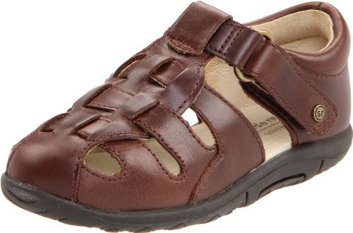 Stride Rite SRTech Harper Fisherman Sandal (Infant/Toddler), Brown, 3 W US Infant - Image 1