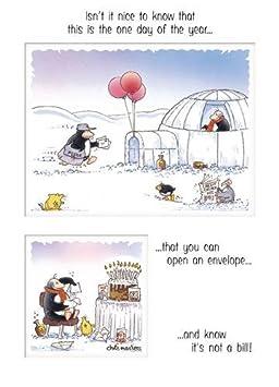 Carte Anniversaire Eric.Carte D Anniversaire Humoristique Eric The Penguin Pas Une Facture