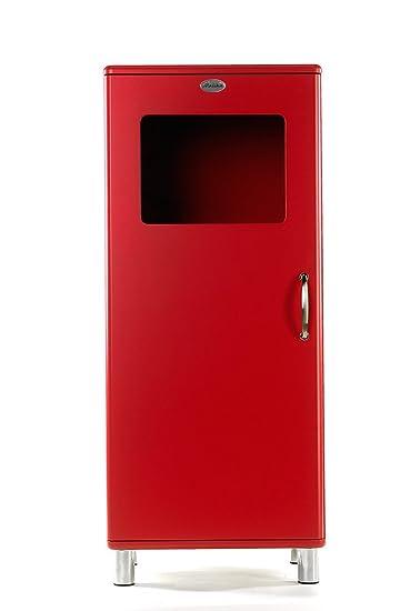 Vitrine / Schrank Malibu 5101 in rot von Tenzo: Amazon.de: Küche ...