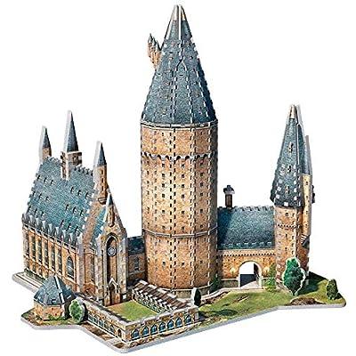 Wrebbit Puzzle Harry Potter 3d Puzzle Great Hall