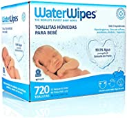 Waterwipes Waterwipes 720 Piezas, Color Blanco, 12 Count, Pack Of/Paquete De 12