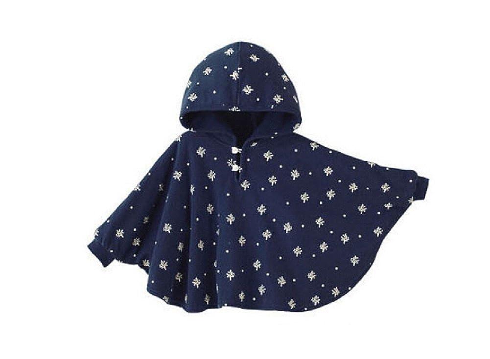 Butterme Cute Baby Inverno Caldo Doppio Lato di Usura con Cappuccio del Capo Poncio del Cappotto per i Bambini Della Neonata del Bambino dei Ragazzi