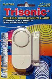 Amazon Com Wireless Door Window Alarm Trisonic New