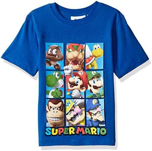 Nintendo Boys' Super Mario Characters T-shirt