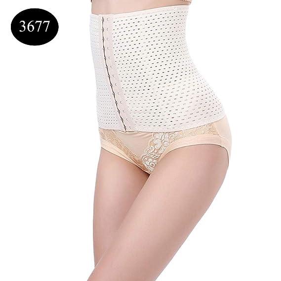 d3dbaf84091 HITSAN Incorporation BONAS Women Postpartum Shapewear Plus Size Nylon  Slimming Body Shaper Belt Lady Breathable Corset