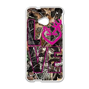 Browning LOVE Phone Case for HTC One M7 by mcsharks