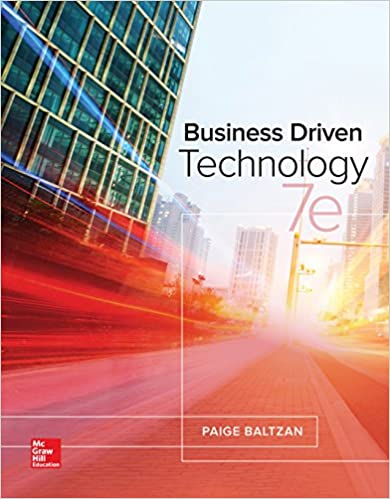 Business driven technology 7 paige baltzan ebook amazon business driven technology 7th edition kindle edition fandeluxe Choice Image