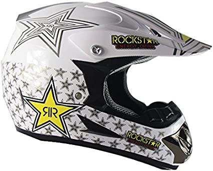 Orange Stars, S WLT Adult Motocross Cross-country motorcycle Allround helmet ABS Road Motor bike ATV size 20.8in-23.6in