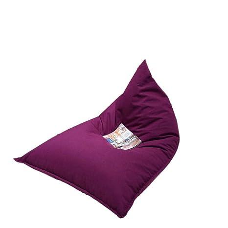 Amazon.com: Ynocar Lazy - Puf tipo puf para sofá, Púrpura ...