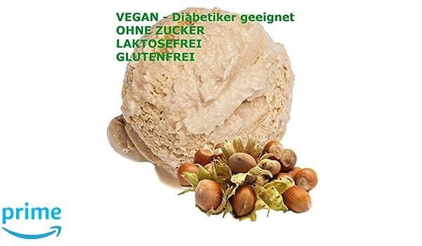Sabor de avellana 1 Kg Gino Gelati Polvo de hielo para leche Helado Helado suave Hielo en polvo: Amazon.es: Alimentación y bebidas