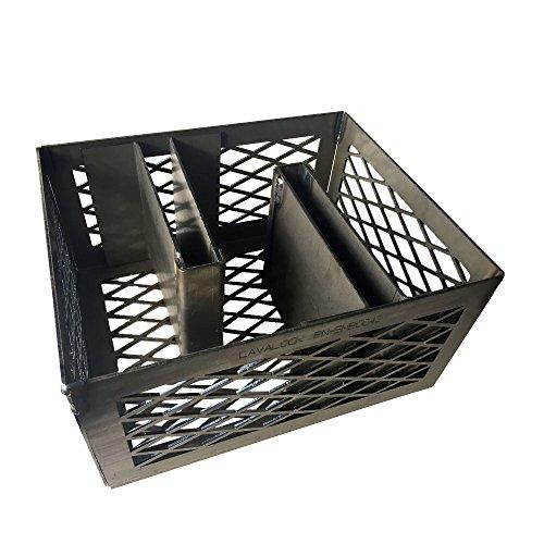 LavaLock Minion Method Charcoal Basket w/ 2 Maze Bars 12 x 10 x 6 ()