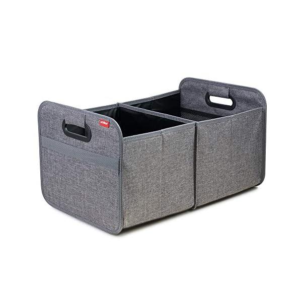 51f2kO9XRAL achilles Auto Faltbox, Kofferraumtasche faltbar, Einkaufstasche, Kofferraum-Organizer, Autotasche, Falt-Korb, Falttasche…