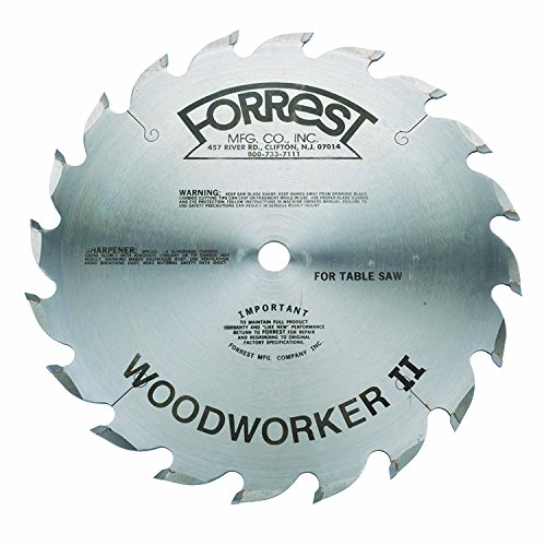Forrest WW10206100 Woodworker Blade Thin product image