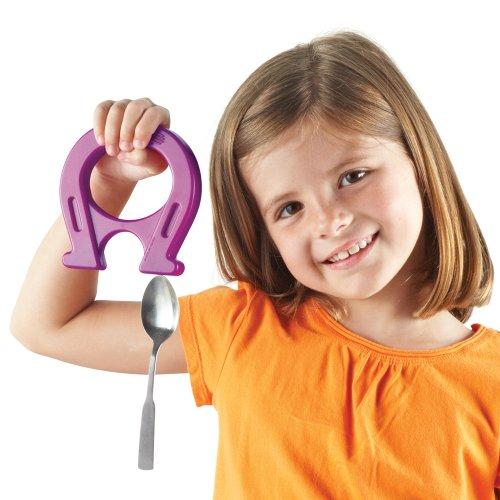 Learning Resources Horseshoe-Shaped Magnets, Set of (Horseshoe Shaped Magnets Set)