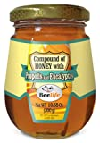 Beelife, 10.58 Oz, 100% Pure, Raw and Unfiltered Honey, Propolis and Eucalyptus Jar