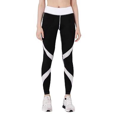 e0aa73765b84c HCFKJ Yoga Pants Leggings For Women Pants Patchwork Girl Sports Yoga  Workout Gym Fitness Leggings Exercise