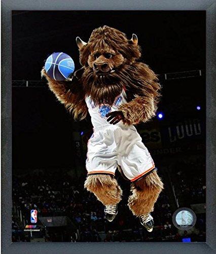 (Oklahoma City Thunder NBA Team Mascot Photo (Size: 17