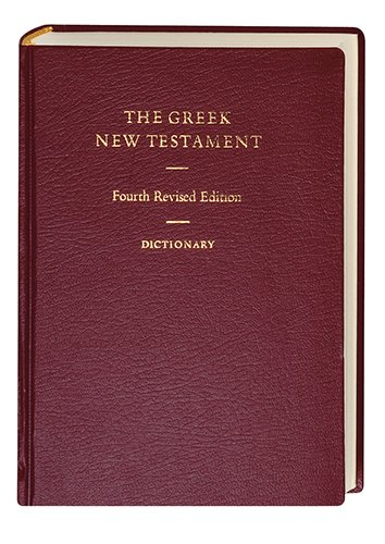 The Greek New Testament, 4th Revised Edition (Greek and English Edition)