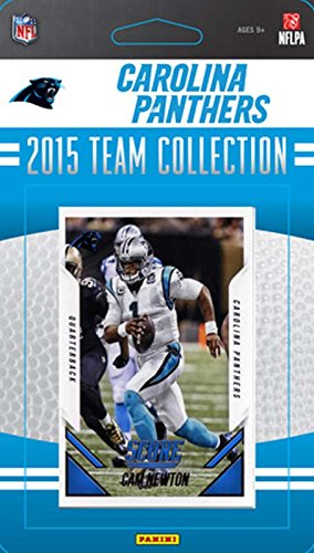 Carolina Panthers 2015 Score Factory Sealed NFL Football 13 Card Team Set Including Cam Newton and Shaq Thompson Rookie - 13 Set Card