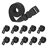 XTACER Backpack Accessory Strap Luggage Straps Release Buckle (Set of 4)