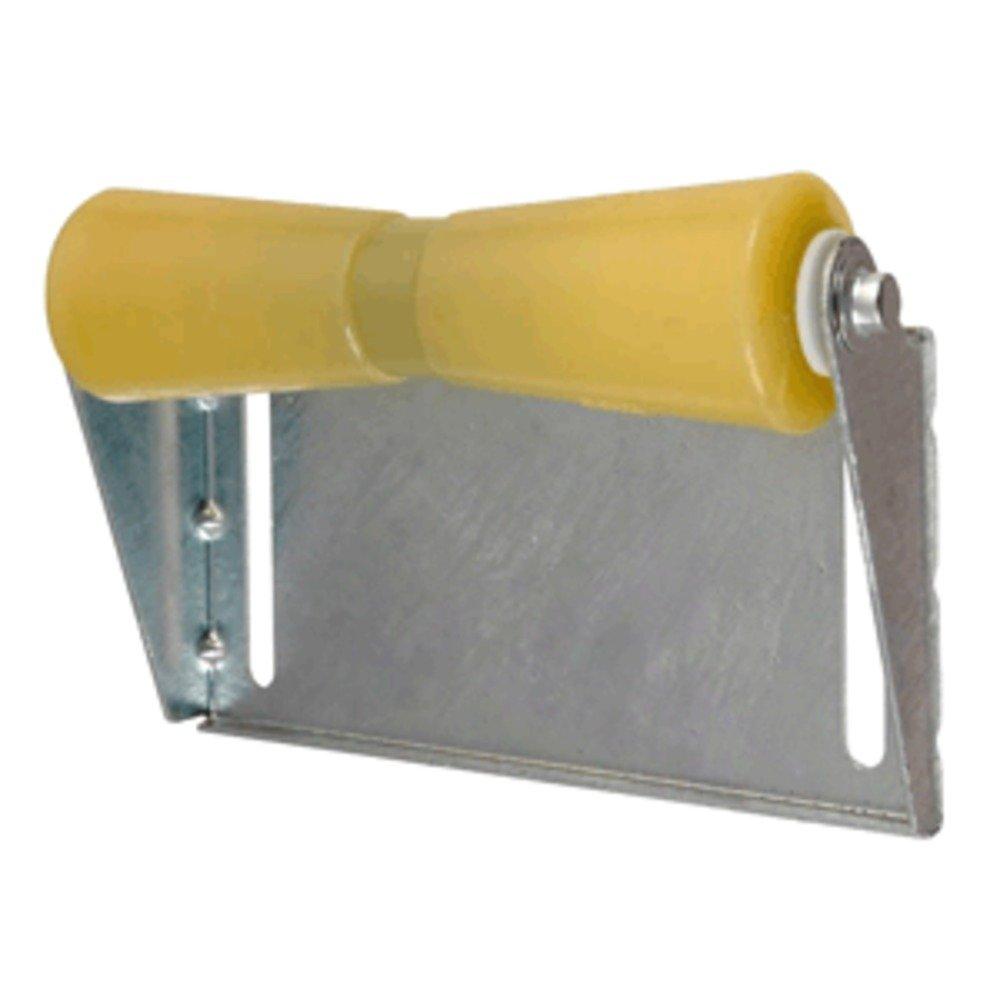 "Tiedown 86280 Boat Trailer Amber//Yellow Poly Keel Roller /& Bracket Kit 8/"""