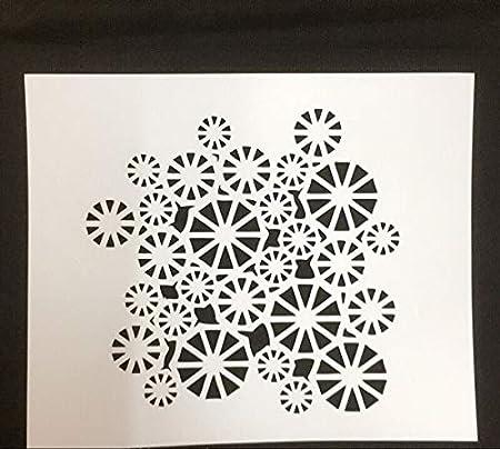 Geometría Tarjeta de herramienta de Scrapbooking de mosaico DIY ...