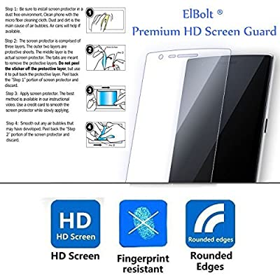 ZTE ZMAX 2 [Z995L Z958L] Cyber Defender Case by ElBolt with Free HD Screen Protector from ElBolt