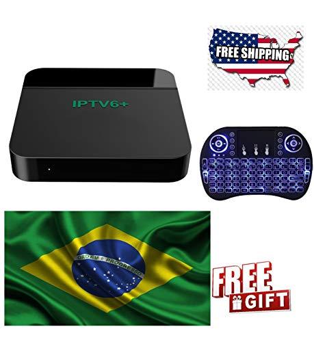 2018 Newest IPTV Brazil Box, Based on HTV6, IPTV Canais Brasileiros, Filmes Brazilian Channels, Movies, TV Shows