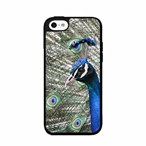 Colorful Peacock - Plastic Phone Case Back Cover (iPhone 4/4s)