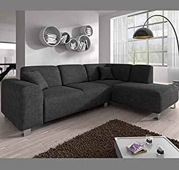 Muebles Bonitos - Sofá chaise longue modelo Galia Gris ...