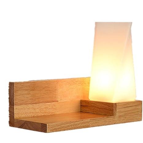 Amazon.com: dmmss vidrio botón estilo de madera madera ...
