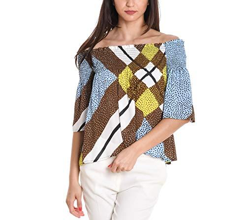 Femme Viscose SUOLI Blouse Multicolore S27220171463 fdPnxqtP