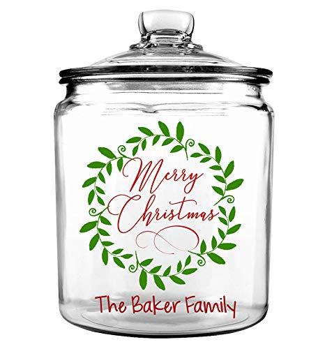 Blue Sky Ceramics Christmas Barn Cookie Jar Multi