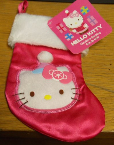 Hello Kitty Christmas Stocking (Mini) Pink and Blue Hat